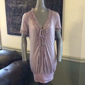 Molio Relio Tops - NWT Molio Relio Boho Oversized Shirt/Shirt Dress